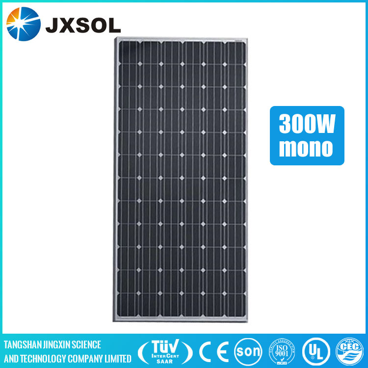 Commercial or home application 300 watt Monocrystalline PV Solar module Solar panel