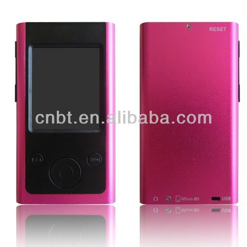 "Mini MP4 Player with 1.8"" TFT Screen and mp4 download hindi video songs"