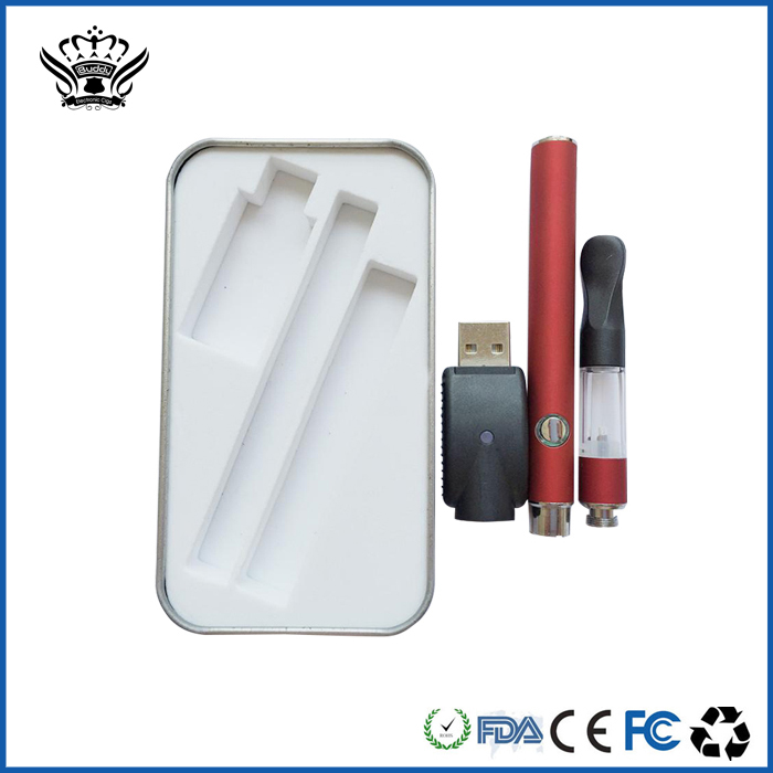 China hot sale 0.4ml oil vaporizer glass atomizer wholesale large capacity battery e-cigarette