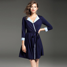 Custom New Style Fashion Dresses Women Lady Female cap Sleeve Design Chic Sexy Dress