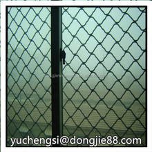 Hot dipped galvanized high quality used chain link fence /hot sale diamond wire mesh fence price