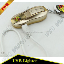 very cool and green usb charged lighter and use long time one time full charge