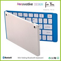 BQB\/FCC approved folding keyboard wireless bluetooth keyboard for Ipad