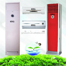 Floor standing air conditioner with outdoor unit