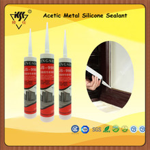Acetic Metal Silicone Sealant/Dow corning 100 Rtv Silicone Sealant For Electronics