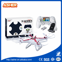 2.4g four axis stunt big size professional android wifi rc new quadcopter toy