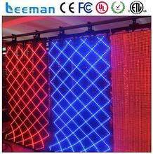 china flexible indoor led video curtain for tv studio soft led displays