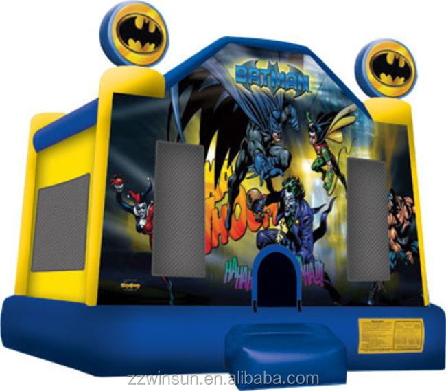 Commercial Inflatable Batman Jump jumper,moonwalk,bouncer