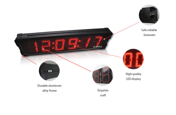 [Ganxin]7 Segment 2018 Waterproof Led Large Screen Digital Race Timer Manufacturer Supply Made in China