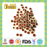 Hot selling beef & cheese flavor mini bites low protein dog treats