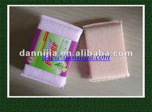 Soft surface kitchen cleaning sponge washing pad