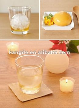 Silicone ice ball&Ice Sphere Molds