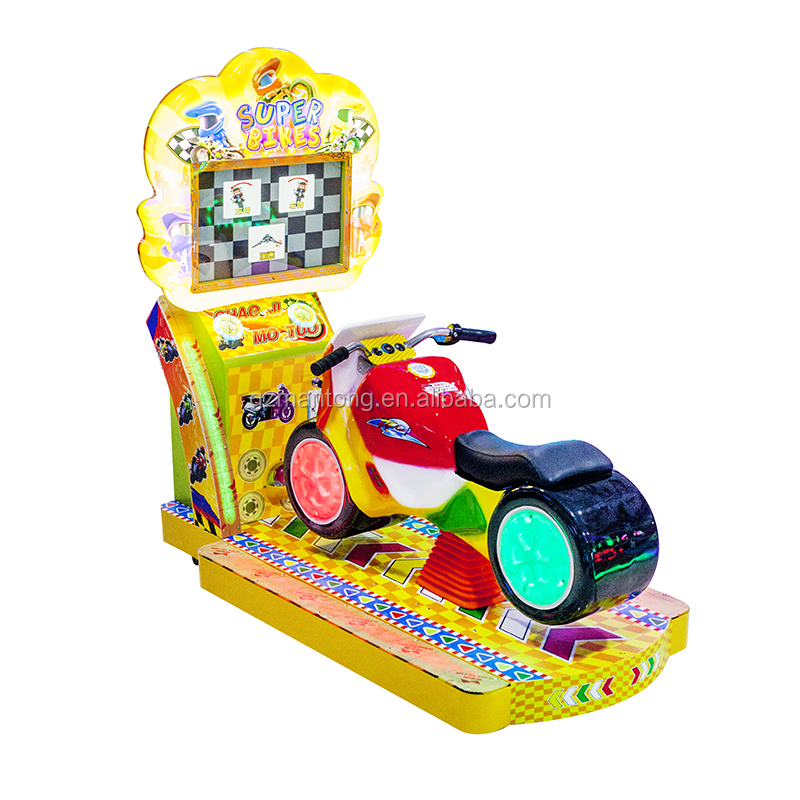 kids racing moto for game centre mother like it make children happy