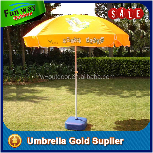 Round Parasol 8 Ribs Automatic Patio Umbrella