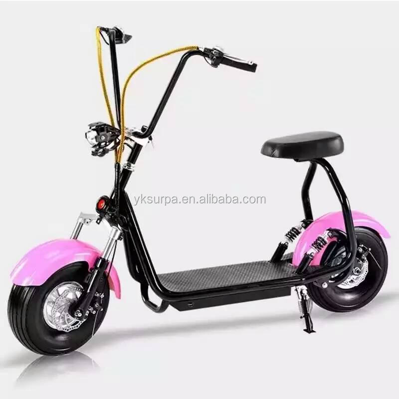 2016 new model front back suspension mini harley electric bike/electric fat bike/snow citycoco woqu seev scooter