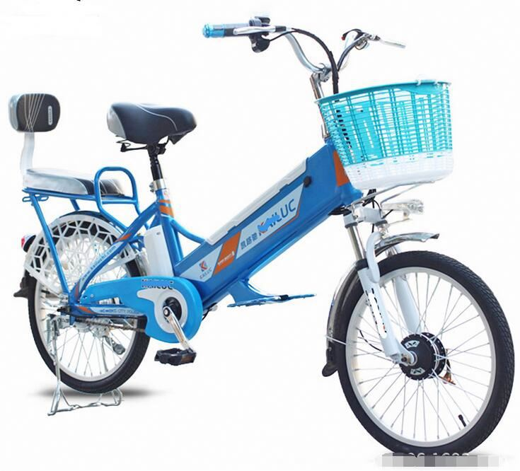 High Quality Folding E-Bike With Magnesium Two Wheels 200W Wattage
