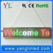 Factory Price High Quality Super Slim Frame LED Running Message Display