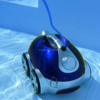 Swimming pool equipment automatic climbing wall robot vacuum cleaner