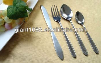 China Factory Direct Stainless steel cutlery 18/0 18/10