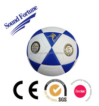 PU laminated size 5 soccerball with popular design in 2015