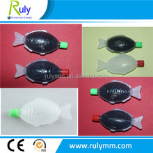 mini fish shape clear plastic sushi soy sauce bottle