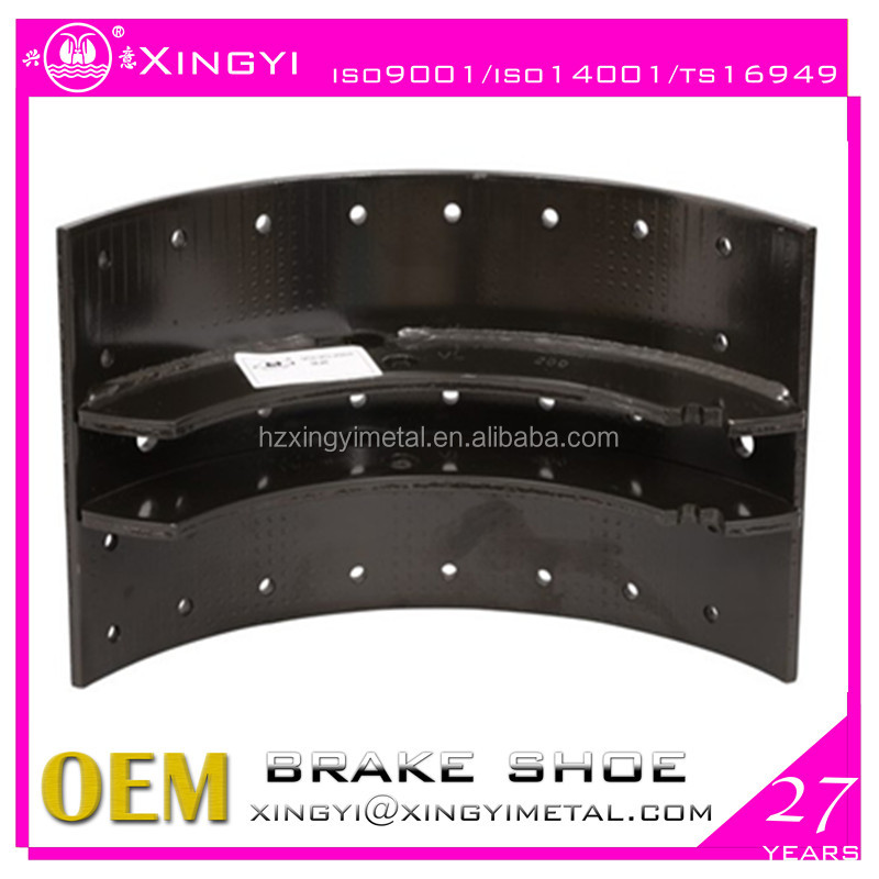 Top quality truck trailer brake shoe 3095195 new VOLVOo 175 <strong>R</strong>/L brake shoe