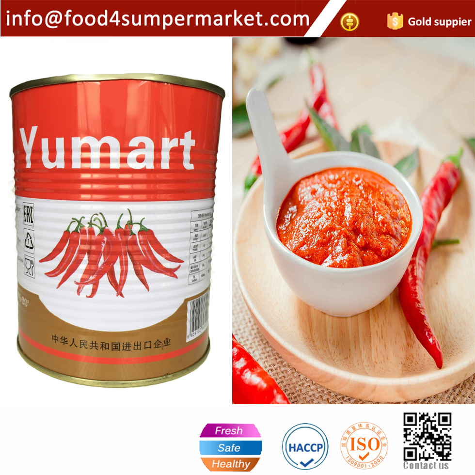 Chinese traditional flavor spicy hot chili paste