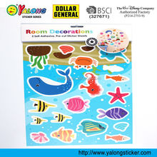 Fish wall stickers home deco