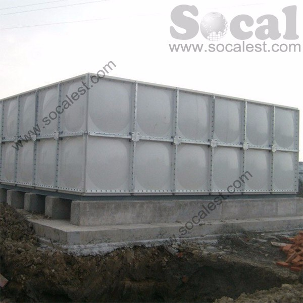 GRP SMC water tank stainless steel water storage tank