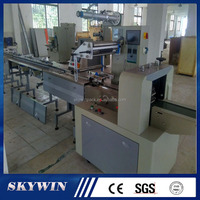 CE High Speed Automatic Horizontal Small Bread Cake Biscuit Cookies Food Flow Packing Machine Price