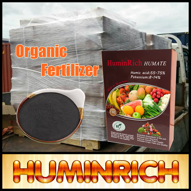 """HuminRich"" Potassium Humic Acid/Humate/Organic Fertilizer From Leonardite/Lignite"