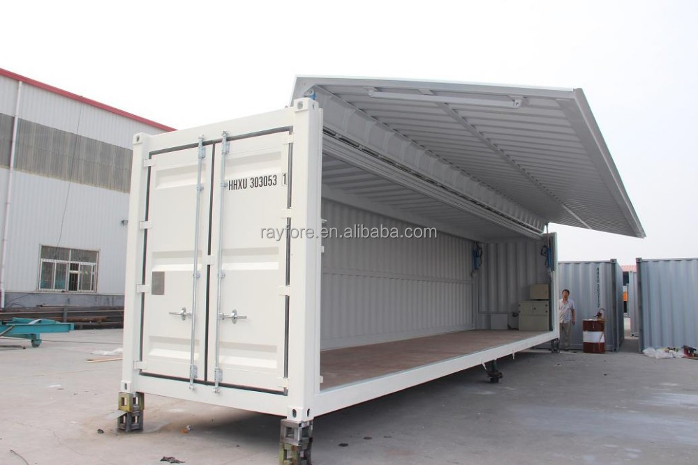 40 sid open flying container qingdao buy 40 open side container open side container shipping. Black Bedroom Furniture Sets. Home Design Ideas