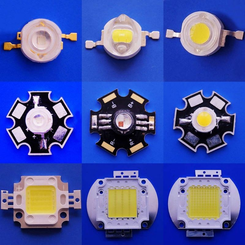 12 watts RGBW LED full colors 4 chips in one LED