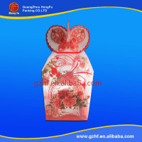 Customized durable clear acetate boxes for gift