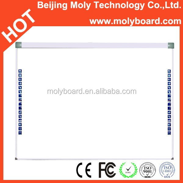 China supply touch screen smart class interactive whiteboard with stand for kids