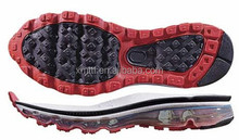 Air cushion Max sport shoes sole for lady and man