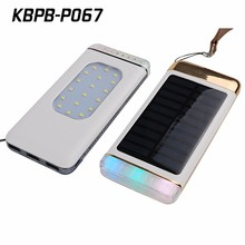 Kingberry 2017 slim solar battery charger for iPhone