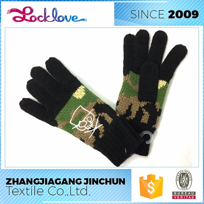 Market Oriented Manufacturer Latest Custom Embroidered Gloves