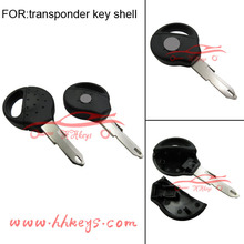 New style Peugeot 206 transponder car keys cover key shell with logo