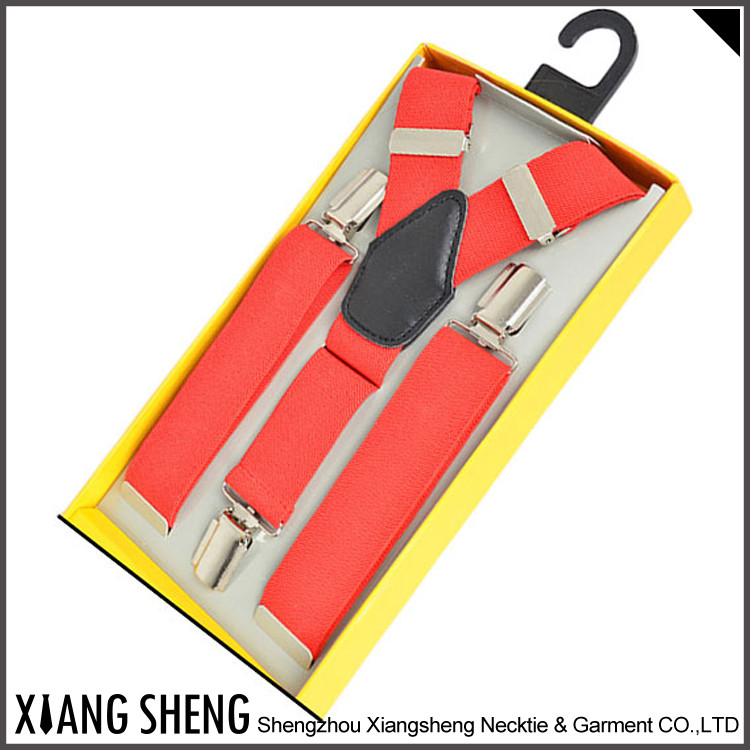 2016 Latest Design Hot Selling Oem Printed Colorful Suspenders