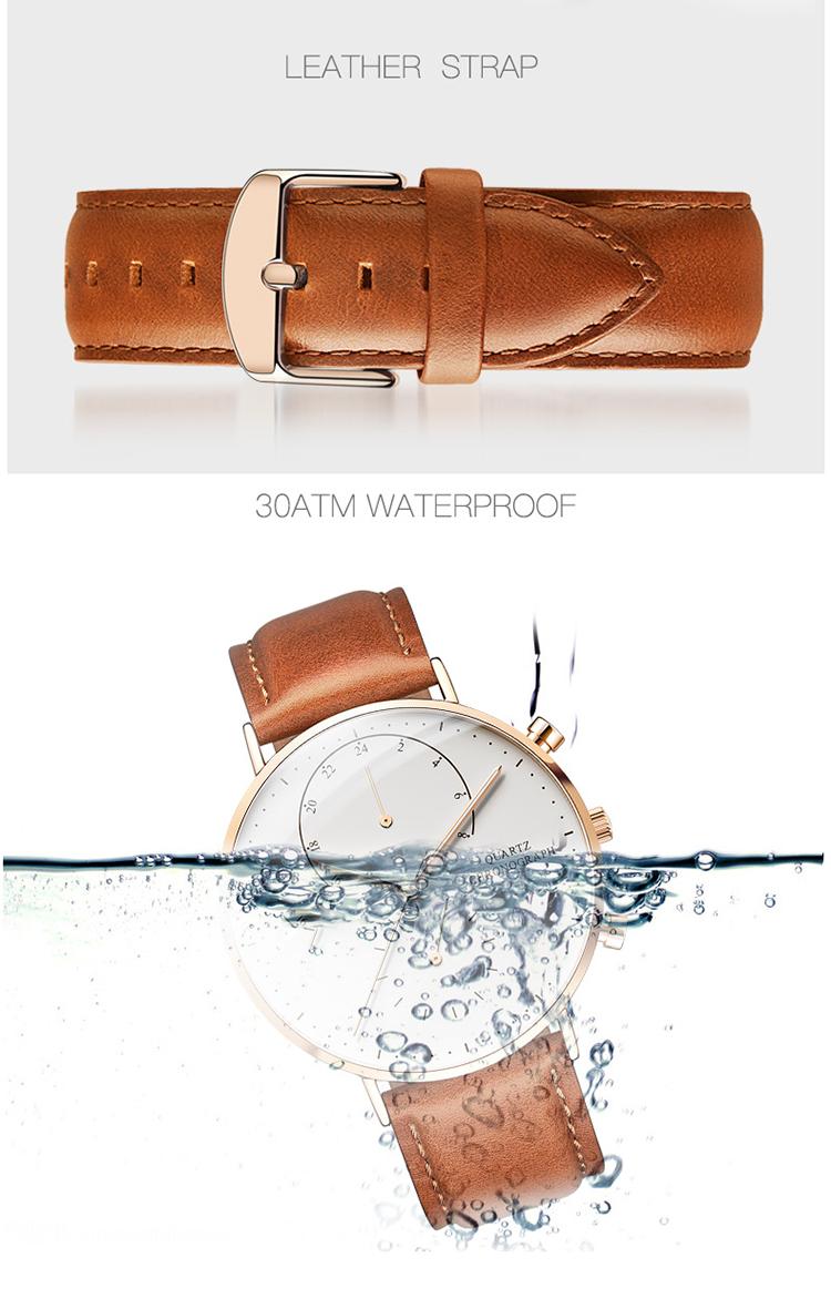 2019 Unique Dome Sapphire Crystal Female Singapore Movement Quartz Brand Men Luxury Watches
