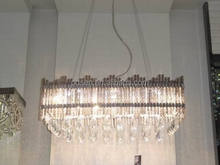 Modern house design pendant light cheap crystal drops chandeliers