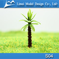 Scale Miniature model palm trees / artificial plastic trees for architectural model making 3.0cm