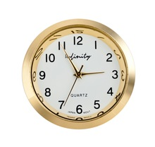 2014 new design luxury blingbling desk clock gold tone assorted colors hot wholesale clock insert made in shenzhen watch factory
