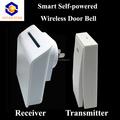 self-powered wireless doorbell with multi receivers