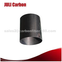 JULI CARBON 2016 New 50mm carbon fiber pipe for underwater camera use