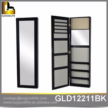 Hot sale wooden wall mounted furniture cabinet with full length mirror