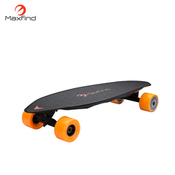 Newest product 31 inch diy dual motor mini electric skateboard