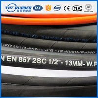 High cost performance fuel resistant rubber and pvc hose,selang hidrolik,steel wire spiral hydraulic hose