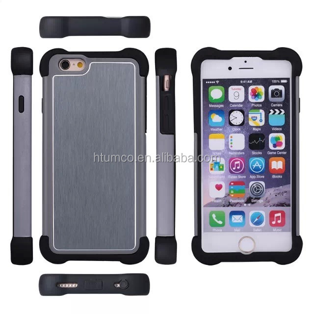 wholesale Newly design free sample phone case, sublimation case, PC+TPU case for iphone 6/ iphone 6plus